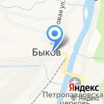 Мрия на карте Южно-Сахалинска