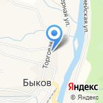 Тоша на карте Южно-Сахалинска