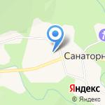 Почтовое отделение на карте Южно-Сахалинска