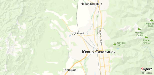 Дальнее на карте