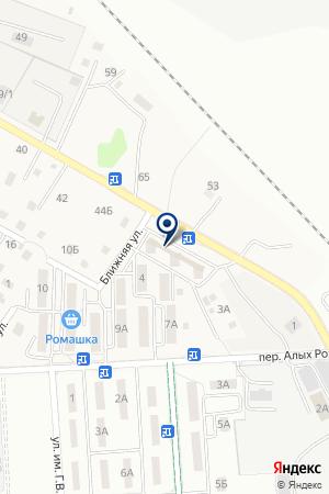 Карусель на карте Дальнего