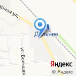 АКЦЭНТ на карте Южно-Сахалинска
