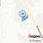 Компания по аренде спецтехники на карте Южно-Сахалинска