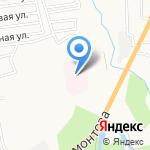 Сахалинская областная психиатрическая больница на карте Южно-Сахалинска