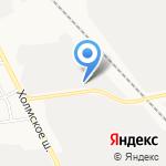 КомСтрой на карте Южно-Сахалинска