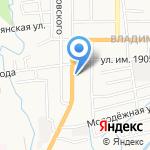 Караван Сарай на карте Южно-Сахалинска