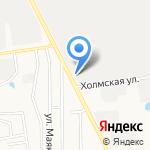 Сталепромышленная компания на карте Южно-Сахалинска