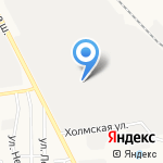 Момент-13 на карте Южно-Сахалинска