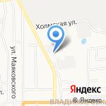 СахСпецТех на карте Южно-Сахалинска