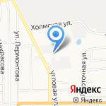 Сахалин-УАЗ-Запчасть на карте Южно-Сахалинска