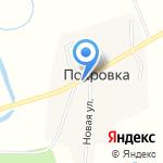 Улыбка на карте Южно-Сахалинска