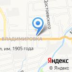 Монумент на карте Южно-Сахалинска