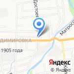ДорХан Сервис на карте Южно-Сахалинска