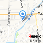 Ноу Дистрибьюшн Евразия на карте Южно-Сахалинска