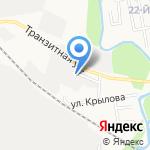Полистирол Сервис на карте Южно-Сахалинска