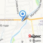 Престиж на карте Южно-Сахалинска