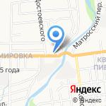 Уралочка на карте Южно-Сахалинска