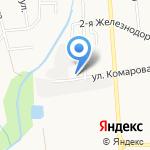 Мелиоратор на карте Южно-Сахалинска