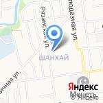 Купидон на карте Южно-Сахалинска