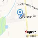 АвтоЦвет на карте Южно-Сахалинска