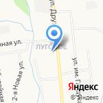 Средняя общеобразовательная школа №30 на карте Южно-Сахалинска