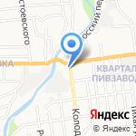 Сахалинское кинодосуговое объединение на карте Южно-Сахалинска