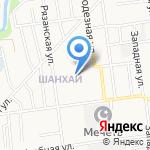 Сахалинский строительный техникум на карте Южно-Сахалинска
