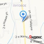 АЗС-Рубикон на карте Южно-Сахалинска