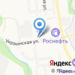 Сахалинский на карте Южно-Сахалинска