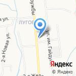 Мастерская по ремонту обуви на карте Южно-Сахалинска