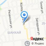 Склад-магазин на карте Южно-Сахалинска