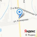Славик на карте Южно-Сахалинска