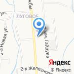 Магазин книг и канцтоваров на карте Южно-Сахалинска