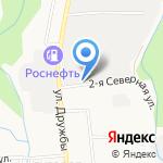 Транспортная компания на карте Южно-Сахалинска