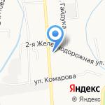 Обувная мастерская на карте Южно-Сахалинска