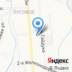 Шиномонтажная мастерская на карте Южно-Сахалинска