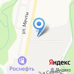 Кордон на карте Южно-Сахалинска
