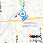 Федерация настольного тенниса Сахалинской области на карте Южно-Сахалинска