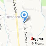 Ассорти на карте Южно-Сахалинска