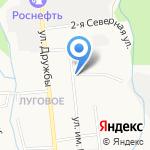 Народный на карте Южно-Сахалинска