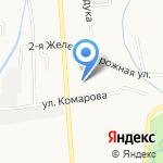 Чебурашка на карте Южно-Сахалинска