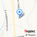 Дальтехсервис на карте Южно-Сахалинска