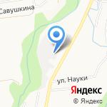 Магистраль-2001 на карте Южно-Сахалинска