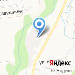 Экспромт на карте Южно-Сахалинска