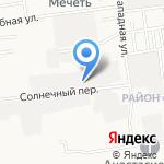 Гаражно-строительный кооператив №200 на карте Южно-Сахалинска