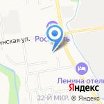 Жилищное эксплуатационное управление на карте Южно-Сахалинска