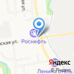 Спум на карте Южно-Сахалинска
