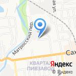 ИнтерАвто на карте Южно-Сахалинска