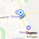 Мега-Стом на карте Южно-Сахалинска