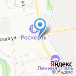 Заходи на карте Южно-Сахалинска